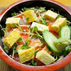 【あらかわ満点メニュー】を食べてきた⑦「満点ランチ バラチラシ」- 松乃寿司