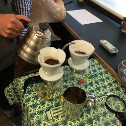 アフリカのコーヒー飲み比べ!ワークショップに参加しました!