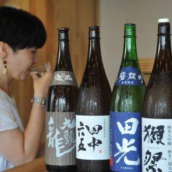 街なか商店塾:吉まぐれ屋「自分に合った日本酒とマリアージュ」講座を体験。