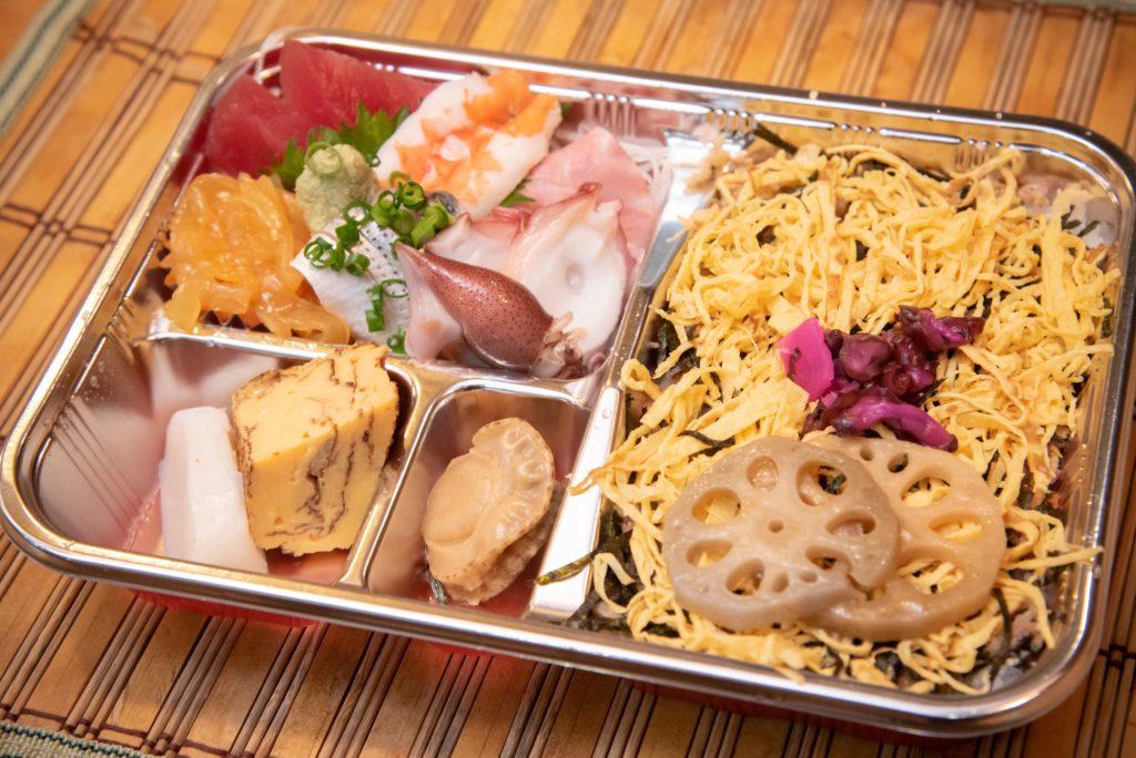 特製ちらし寿司(1080円)