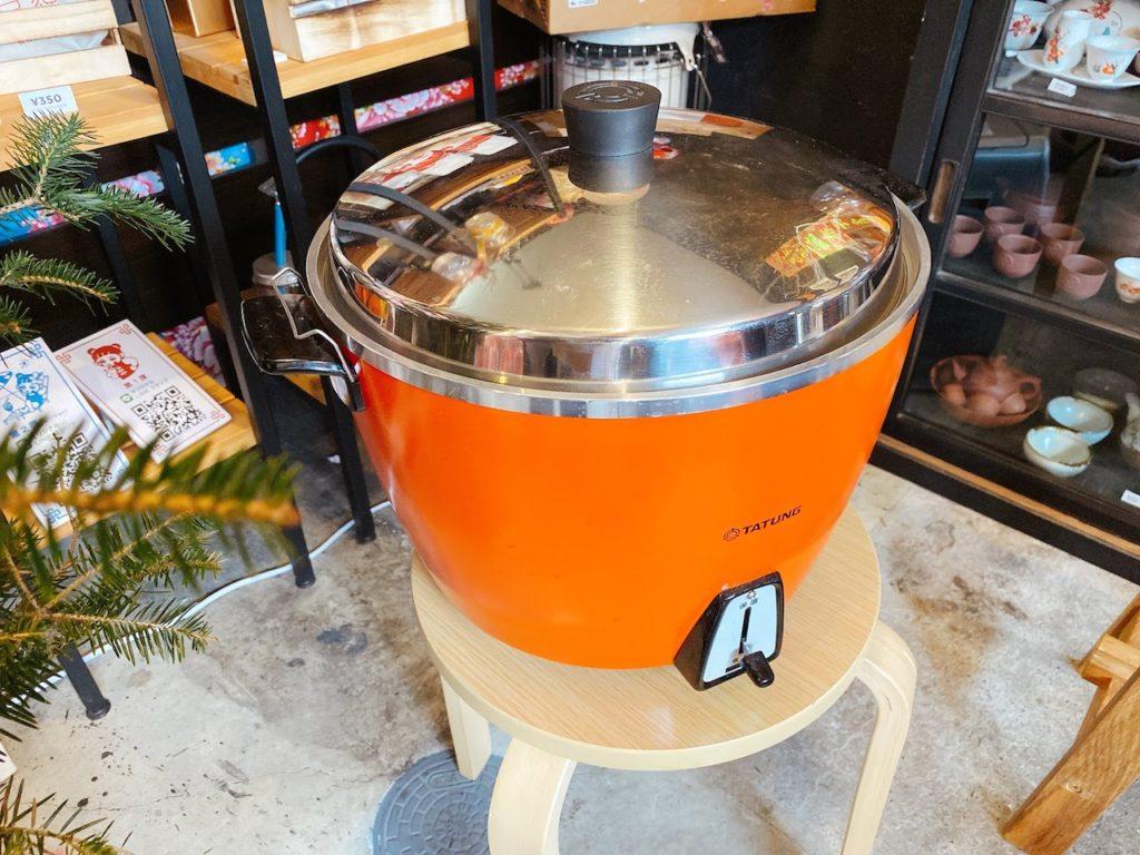 これが台湾製電鍋だ!
