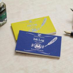 万年筆とインクの履歴帳「Ink Log」渡邉製本より新発売(プレスリリース)