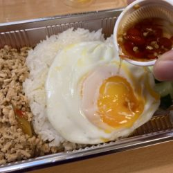 汗がぶわっ!Sol BangkokのガパオとパッタイをUber Eatsした話
