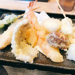 【開店】町屋にオープンした江戸前天麩羅 天堂で定食ランチを食べてきた。