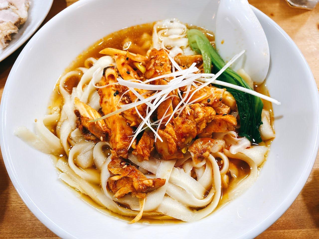 山椒麻辣刀削麺