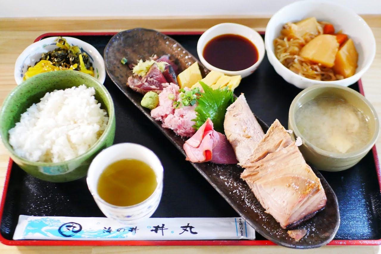 焼魚定食(鮪)