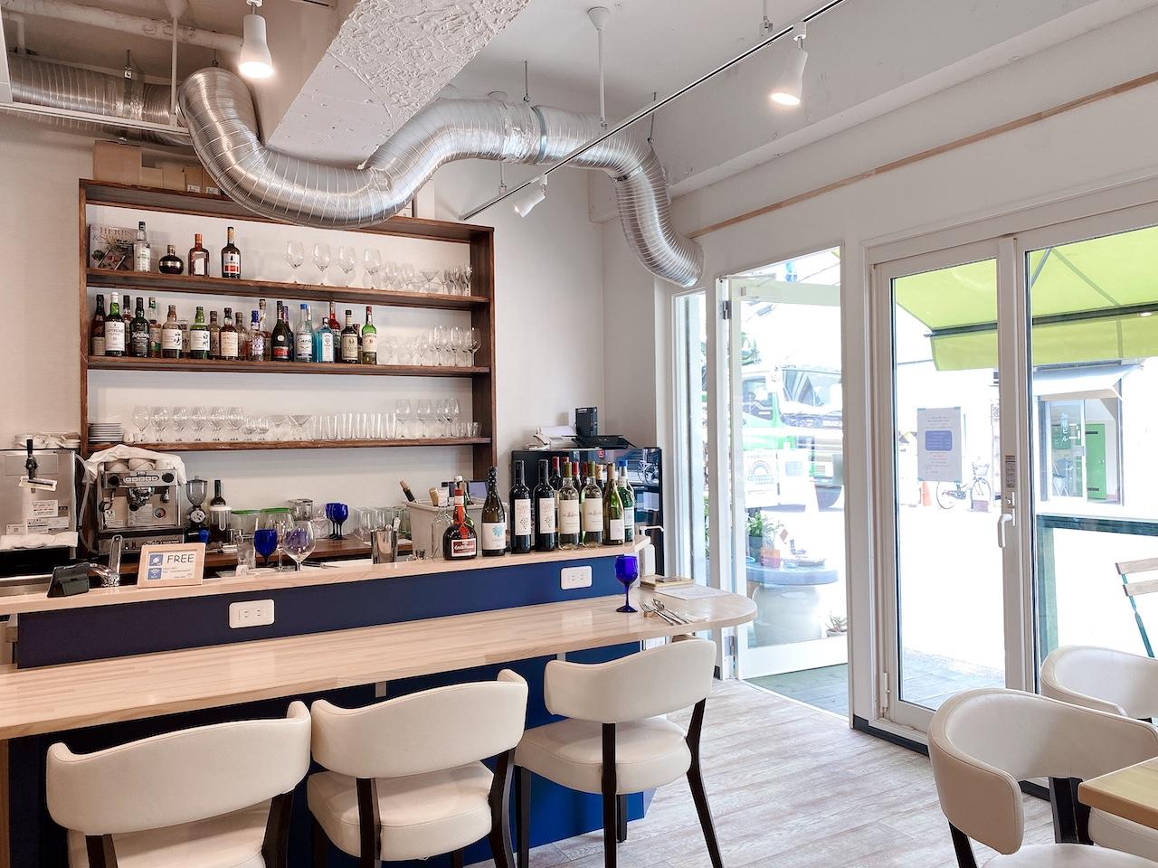 Cielo Cafe カウンター