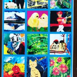 acca絵画教室展覧会